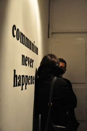"Ciprian Muresan, ""COMMUNISM NEVER HAPPENED"", 2010"